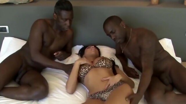 Evening with.. bbc french tits