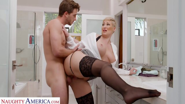 Ryan Keely takes.. big ass big tits blonde