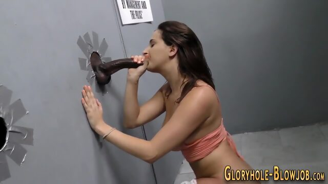 Busty gloryhole.. hd